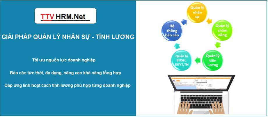 Tri Thức Việt – Phần Mềm Quản Lý Nhân Sự - Lương