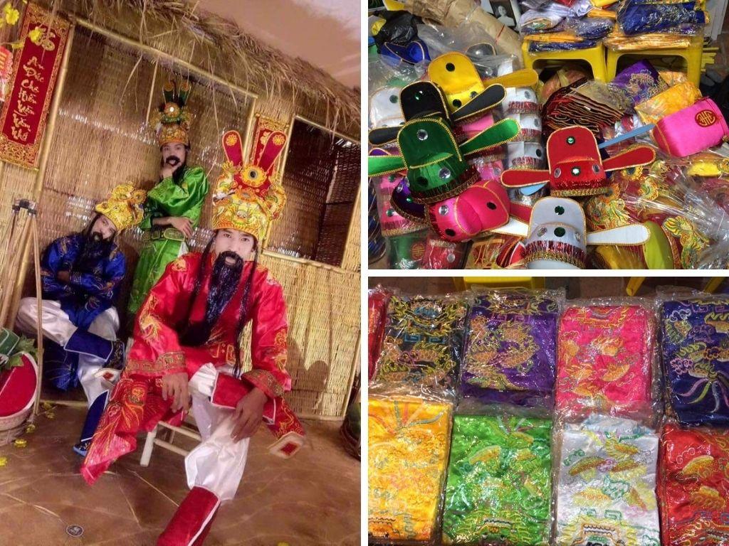 Dịch vụ cho thuê trang phục Thần Tài - mascot đắt hàng ngày Vía Thần Tài