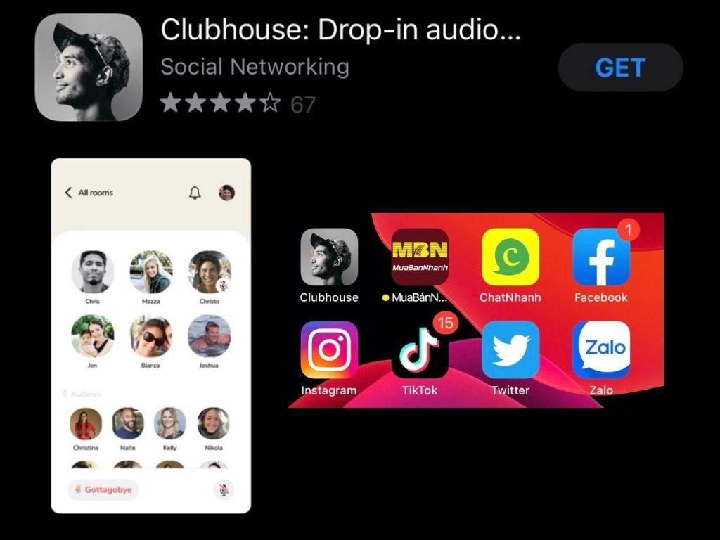 Clubhouse mạng xã hội đáng kinh ngạt về Audio