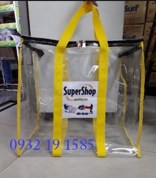 Sản xuất túi nhựa pvc trong suốt quà tặng giá rẻ