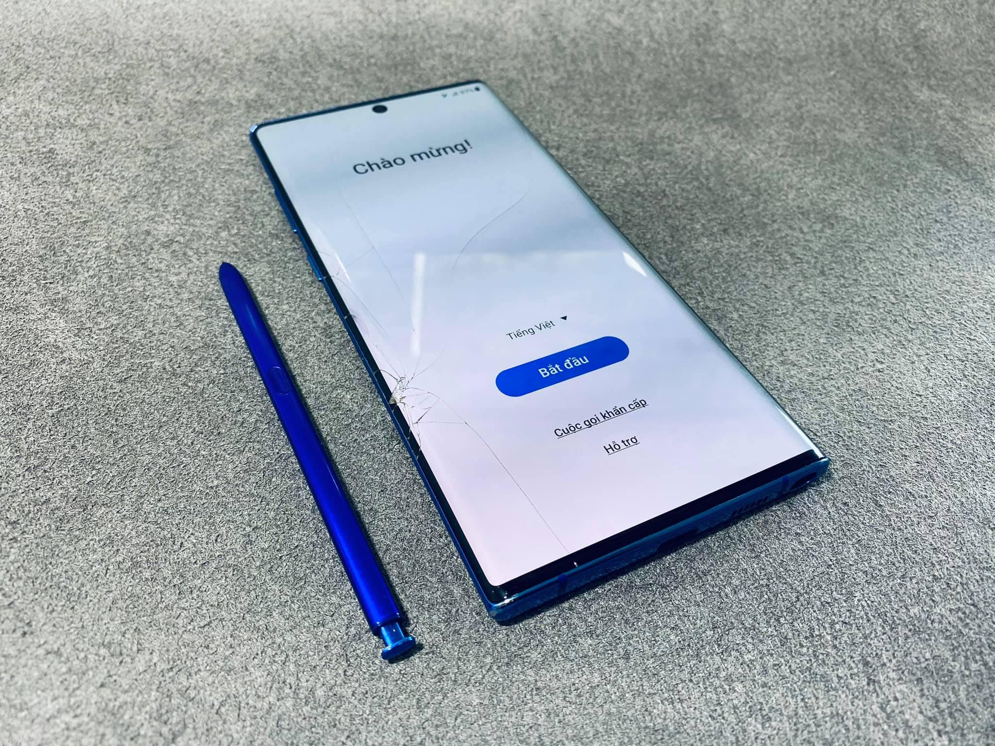 Ép Kính, Thay Nắp Lưng Samsung Note 10 Plus Uy Tín Số 1 Vũng Tàu