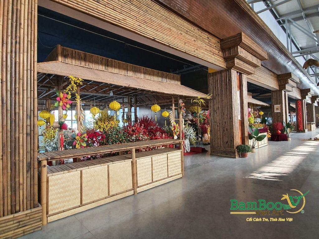 Thiết kế công trình tre nhà hàng dân gian và đương đại - Ảnh: 10