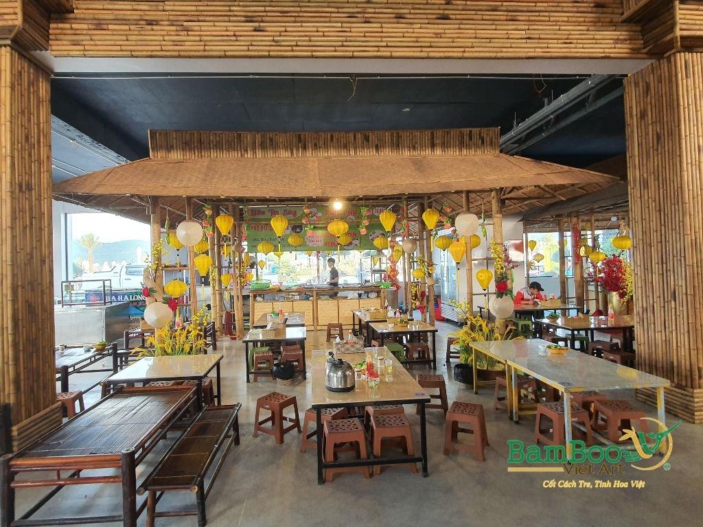 Thiết kế công trình tre nhà hàng dân gian và đương đại - Ảnh: 14