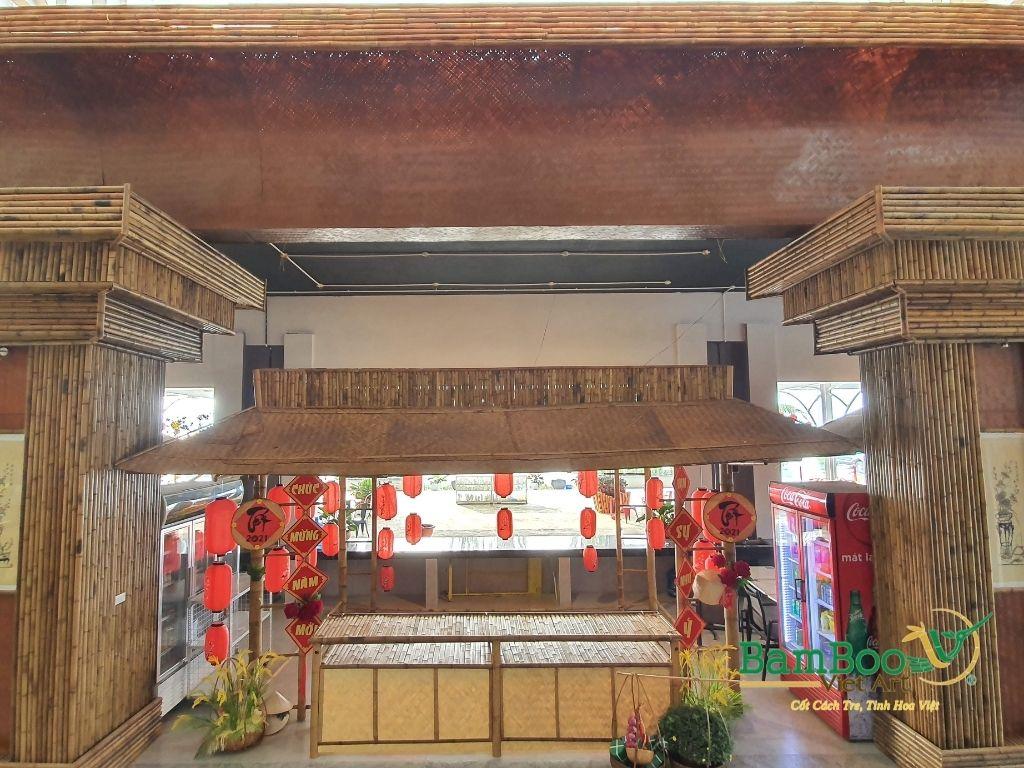 Thiết kế công trình tre nhà hàng dân gian và đương đại - Ảnh: 29