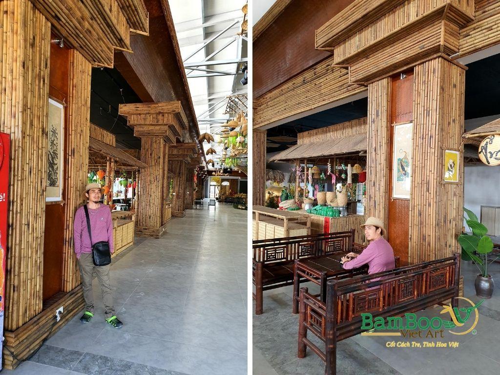 Thiết kế công trình tre nhà hàng dân gian và đương đại - Ảnh: 38