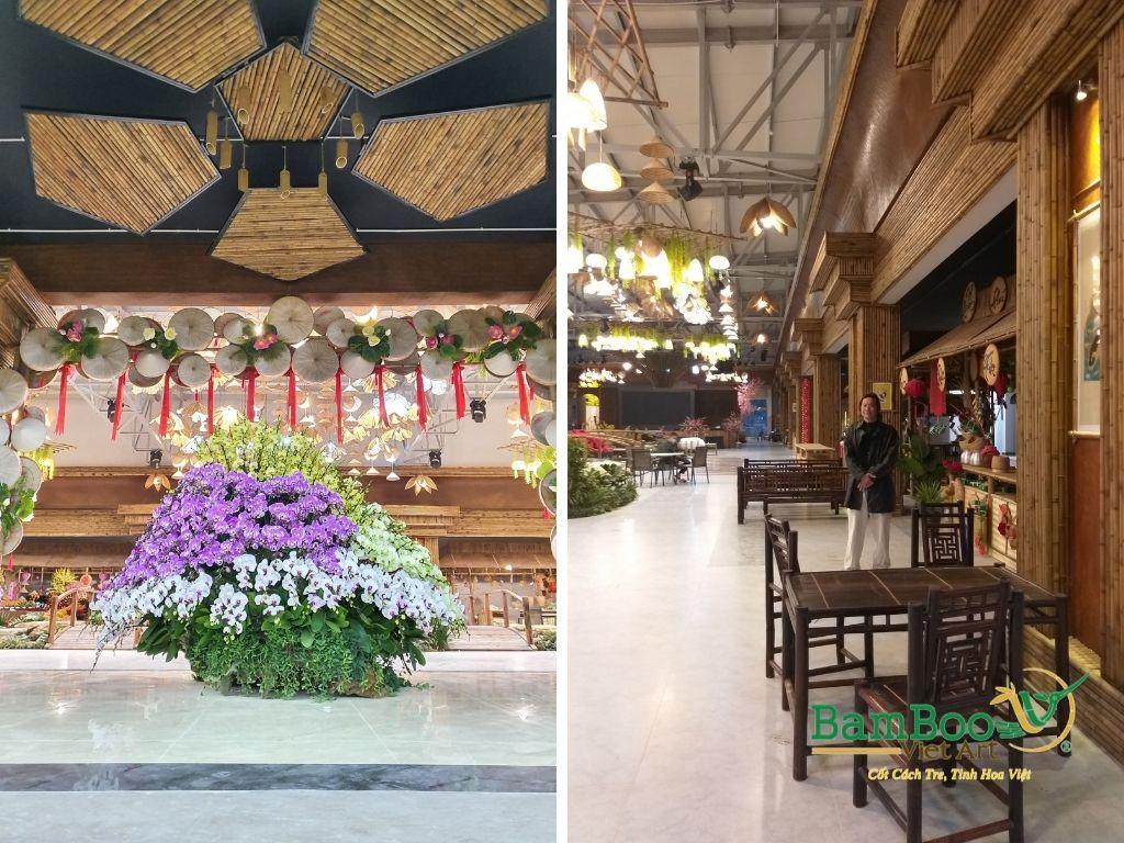 Thiết kế công trình tre nhà hàng dân gian và đương đại - Ảnh: 35