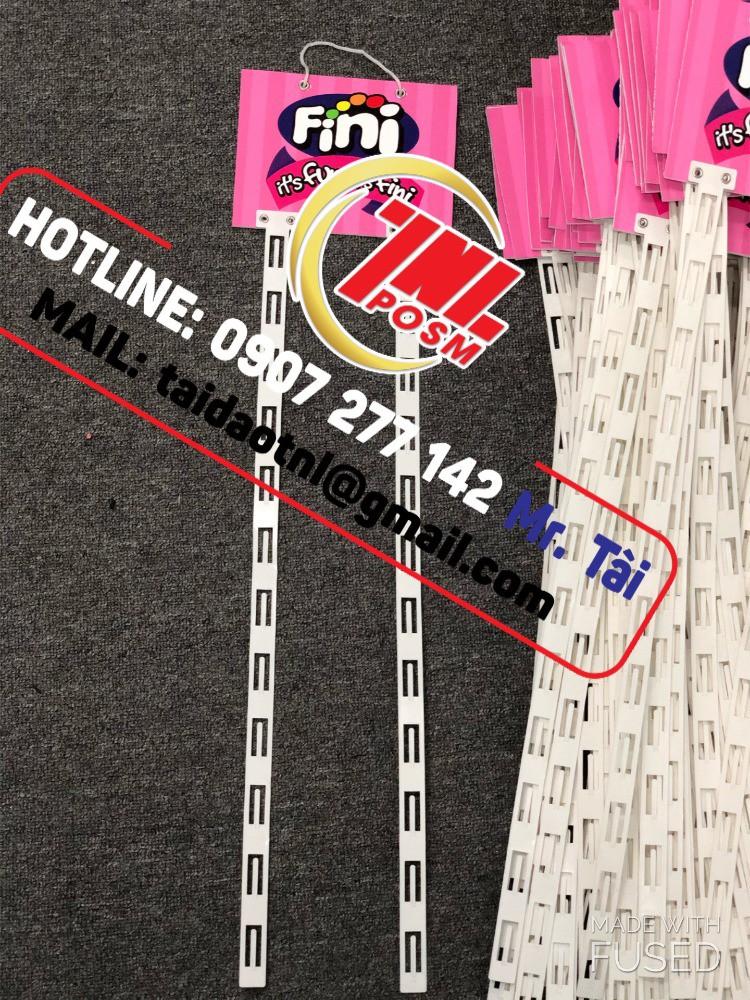Hanger Format, hanger dây nhựa giá rẻ, hanger quảng cáo