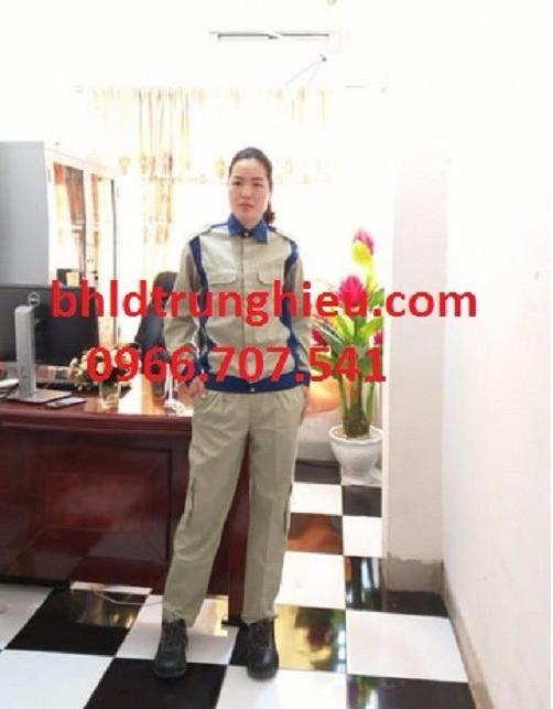 Quần áo bảo hộ lao động giá rẻ tại bảo hộ trung hiếu