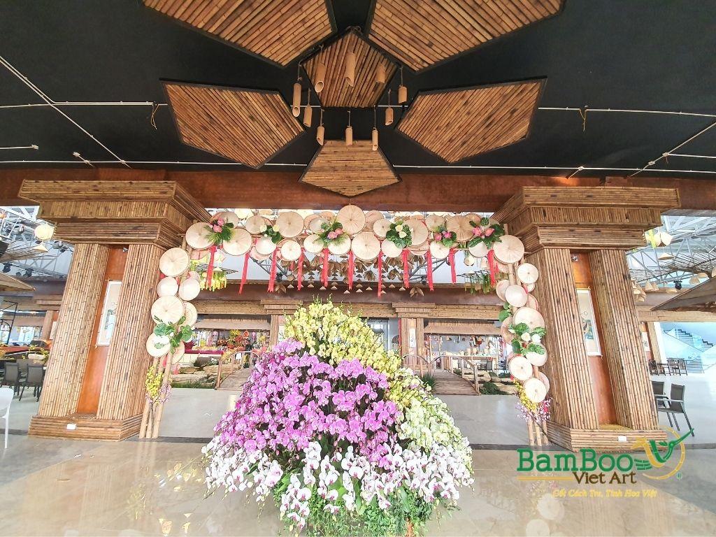 Thiết kế nhà tre, xây dựng nhà tre, thi công resort tre, nhà hàng tre, không gian văn hóa tre - Ảnh: 23