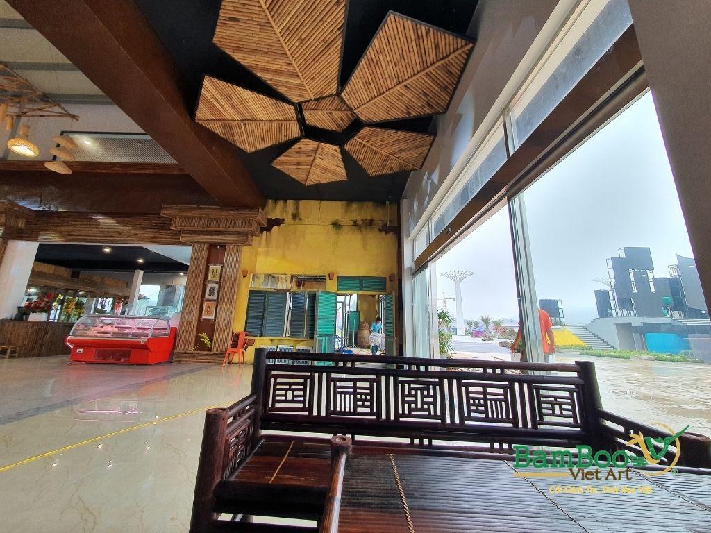 Thiết kế nhà tre, xây dựng nhà tre, thi công resort tre, nhà hàng tre, không gian văn hóa tre - Ảnh: 20