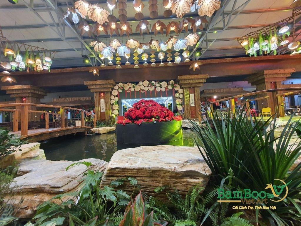 Thiết kế nhà tre, xây dựng nhà tre, thi công resort tre, nhà hàng tre, không gian văn hóa tre - Ảnh: 10