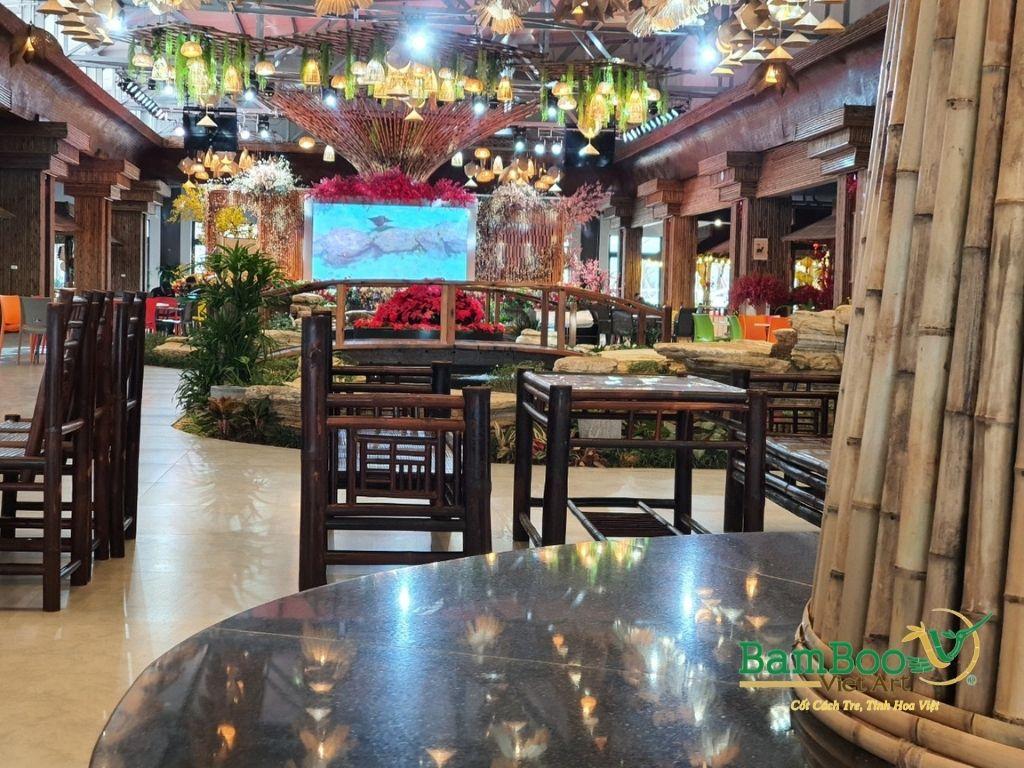 Thiết kế nhà tre, xây dựng nhà tre, thi công resort tre, nhà hàng tre, không gian văn hóa tre - Ảnh: 12