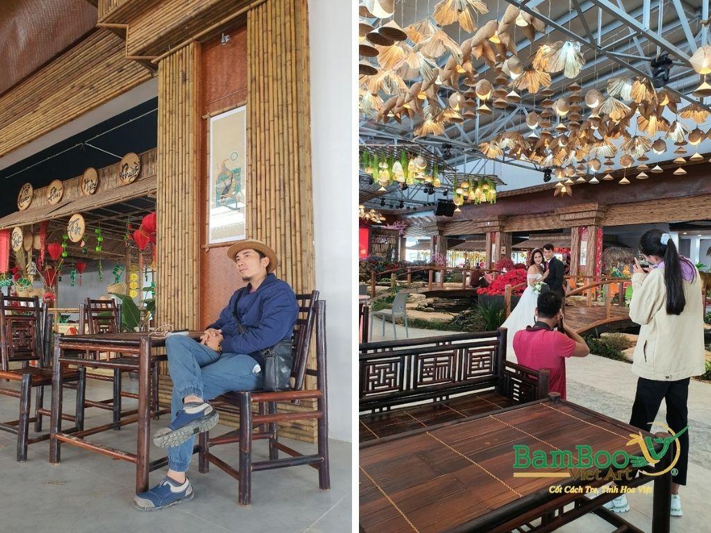 Thiết kế nhà tre, xây dựng nhà tre, thi công resort tre, nhà hàng tre, không gian văn hóa tre - Ảnh: 14
