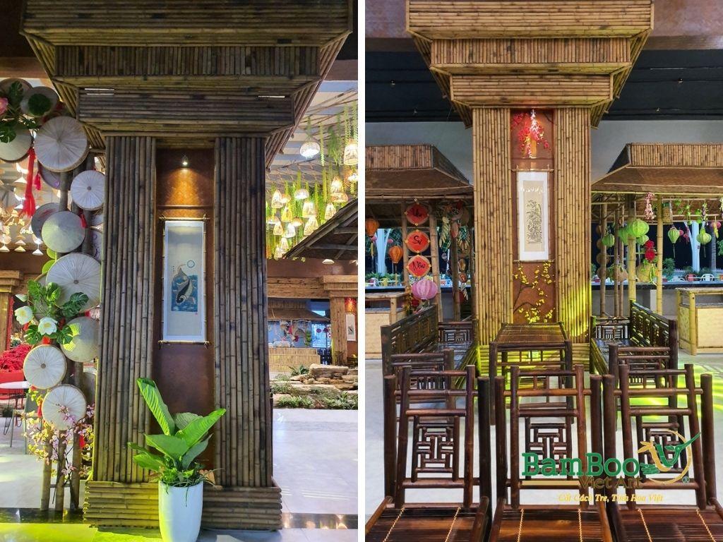 Thiết kế nhà tre, xây dựng nhà tre, thi công resort tre, nhà hàng tre, không gian văn hóa tre - Ảnh: 15