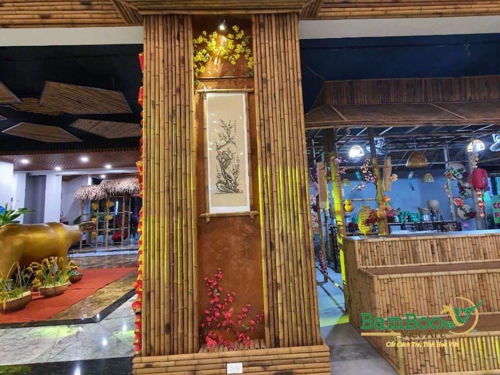 Thiết kế nhà tre, xây dựng nhà tre, thi công resort tre, nhà hàng tre, không gian văn hóa tre - Ảnh: 18