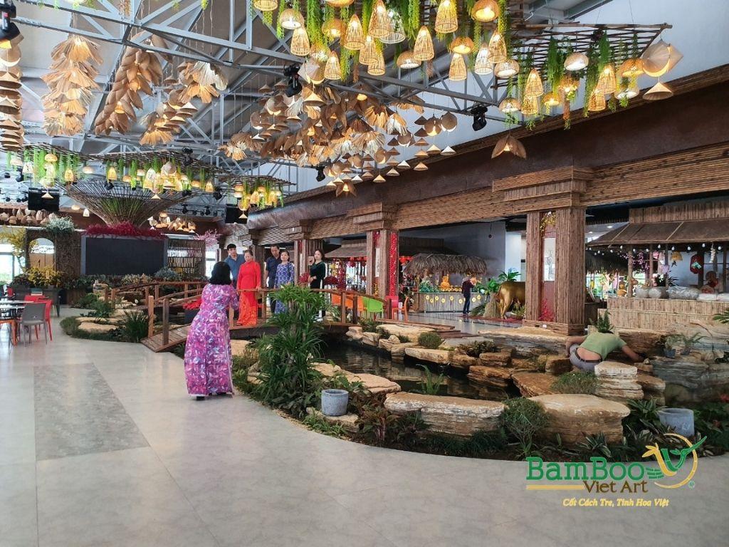 Thiết kế nhà tre, xây dựng nhà tre, thi công resort tre, nhà hàng tre, không gian văn hóa tre - Ảnh: 2