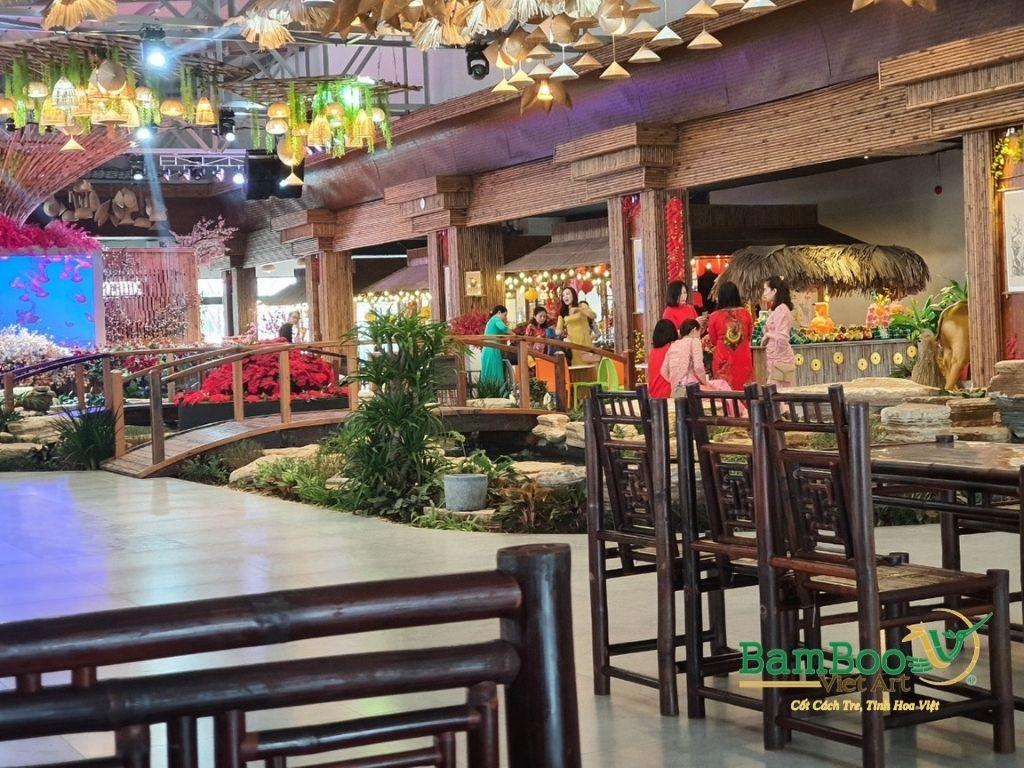 Thiết kế nhà tre, xây dựng nhà tre, thi công resort tre, nhà hàng tre, không gian văn hóa tre - Ảnh: 5