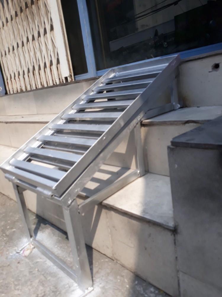 Làm cầu sắt dắt xe máy tại nhà TPHCM - 0947.406.037 Lưu động nhanh