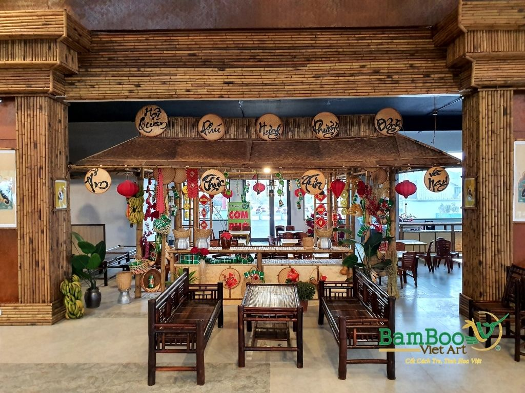 Cho thuê bàn ghế gỗ Hà Nội - phục vụ sự kiện