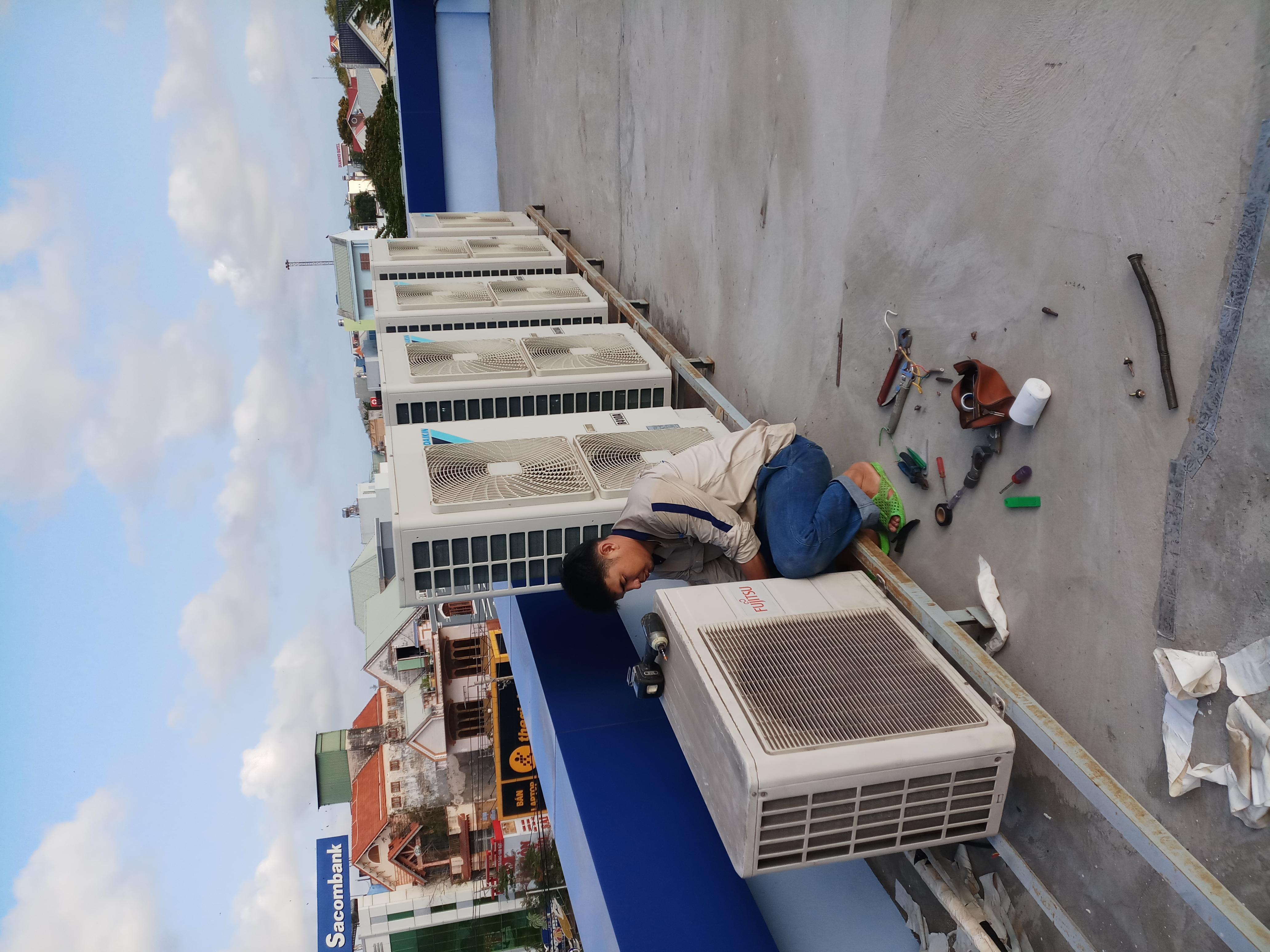Lắp đặt, sửa chữa, vệ sinh, máy lạnh, máy giặt, máy nóng lạnh tại nhà tại huyện xuyên mộc