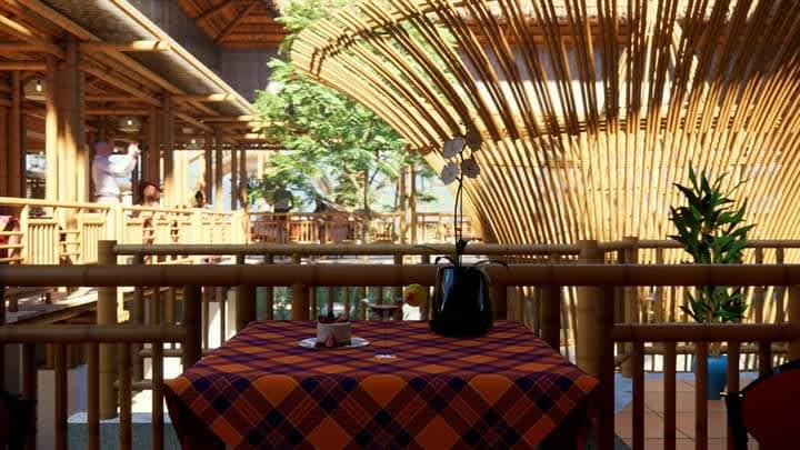 Trọn gói công trình tre trúc: quán cafe, nhà hàng, quán ăn, nhà ở