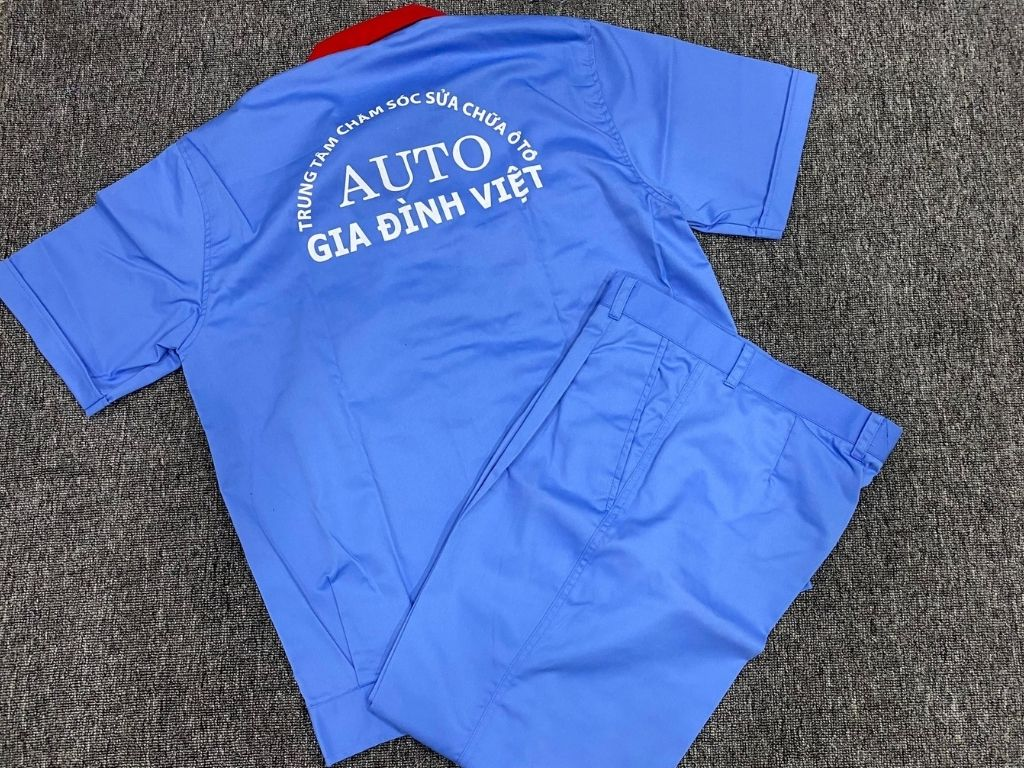 Đồng phục xe đạp, áo đồng phục xe, đồng phục thợ bảo dưỡng xe