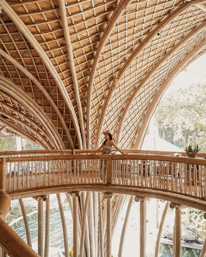 Công trình kiến trúc bằng tre