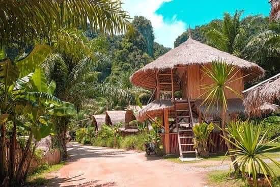 Thiết kế nhà tre cho resort, khu vui chơi