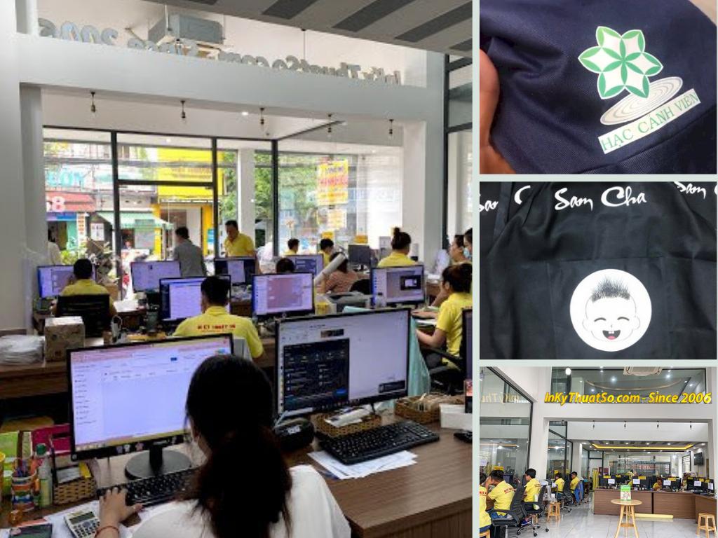 Xưởng in logo áo bảo hộ lao động nhân viên, đồng phục công ty số lượng ít theo yêu cầu TPHCM