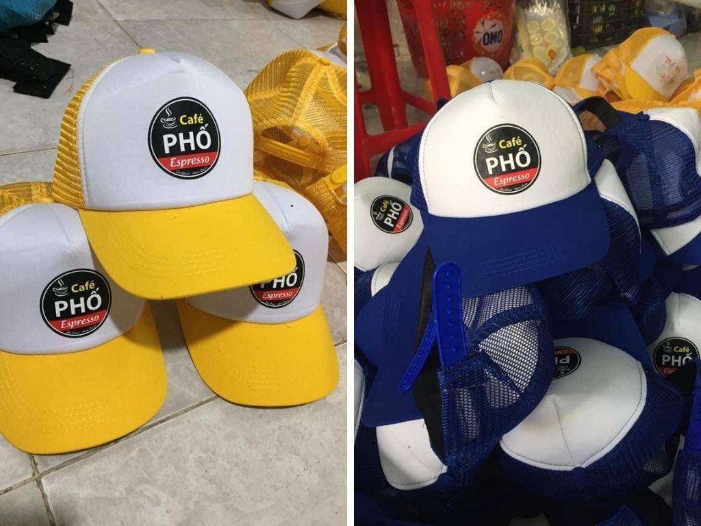 Xưởng mũ lưỡi trai, xưởng may gia công nón tại TPHCM