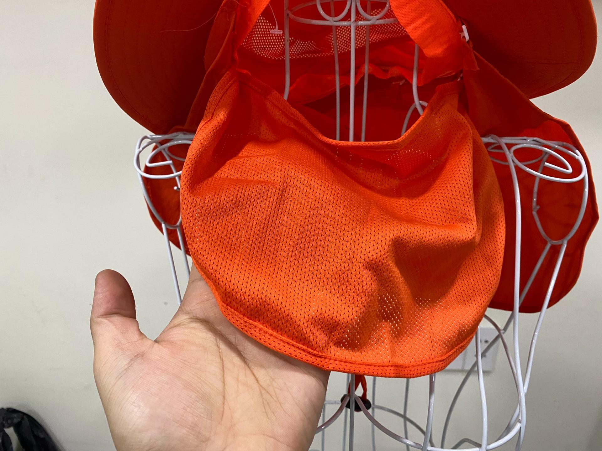 Mũ chống nắng kèm khẩu trang chất vải cao cấp, giá rẻ