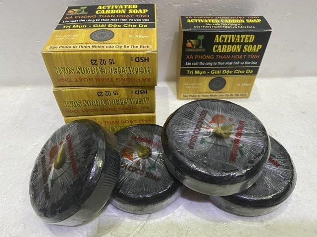 Sản xuất xà phòng dầu dừa organic - hanmade Coconut soap