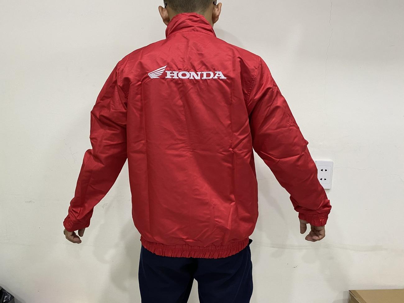 Xưởng may áo khoác, áo khoác đồng phục Honda