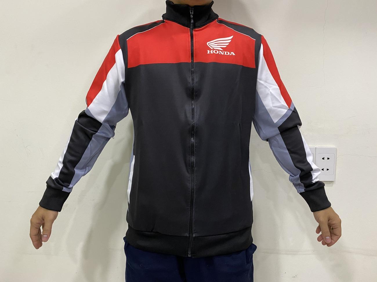 Xưởng áo gió Honda Racing, áo gió Honda Racing Boy, áo khoác Honda Racing Boy