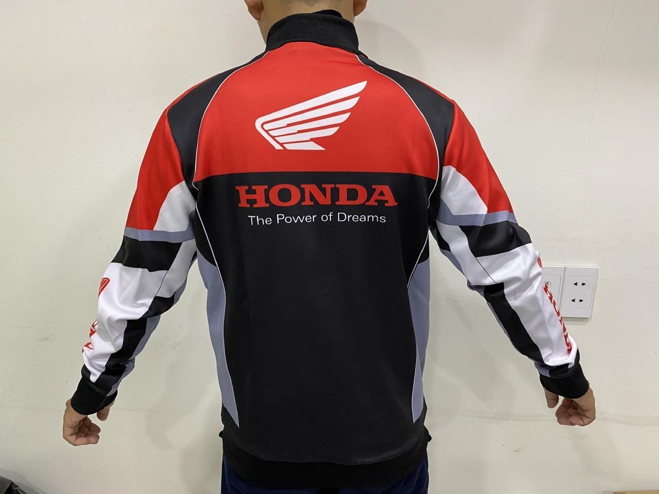 Áo khóac đi phượt Honda Racing