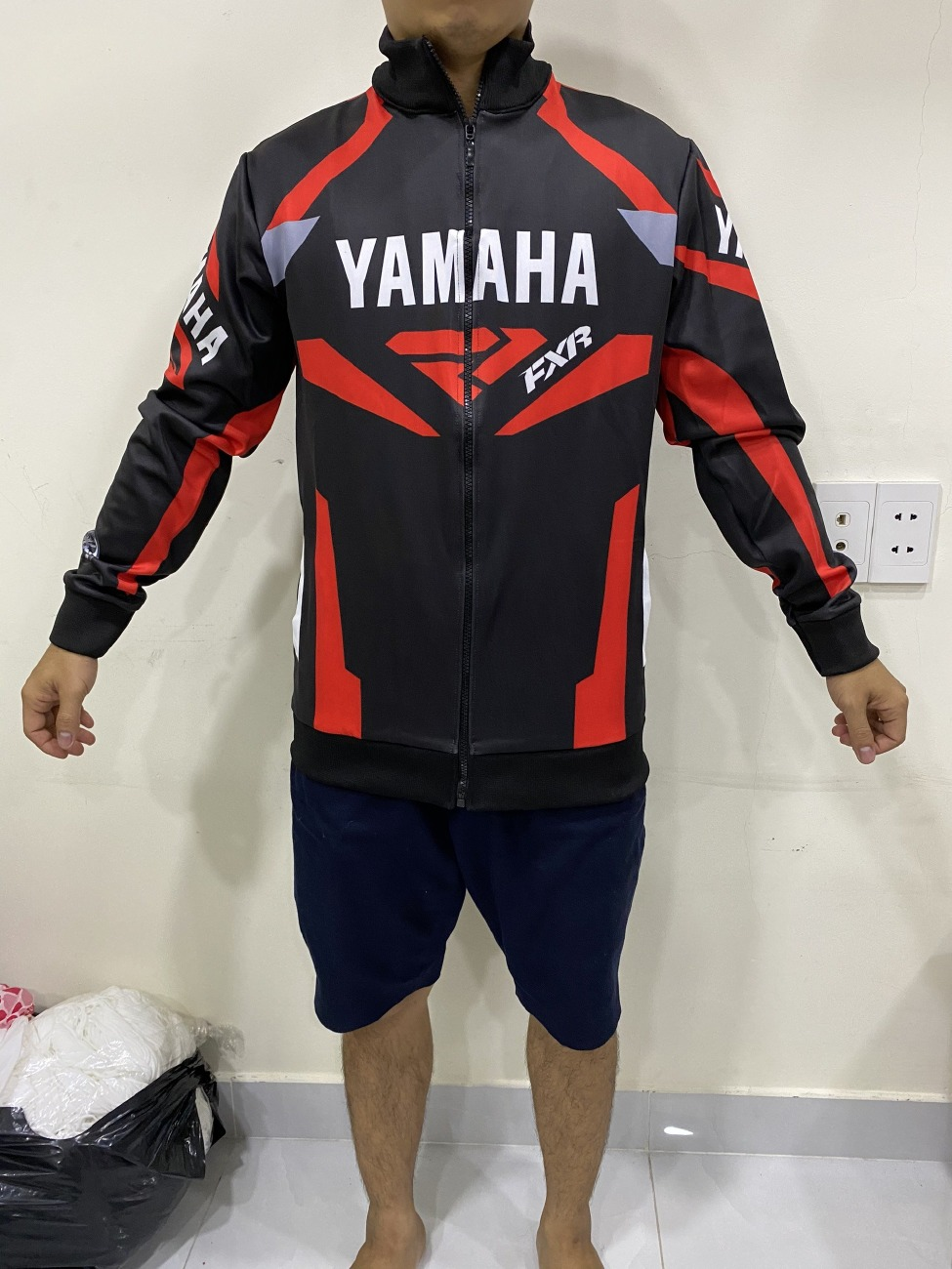 Chuyên đồng phục đi phượt bằng xe máy TPHCM - Áo gió Honda Racing, Yamaha Racing