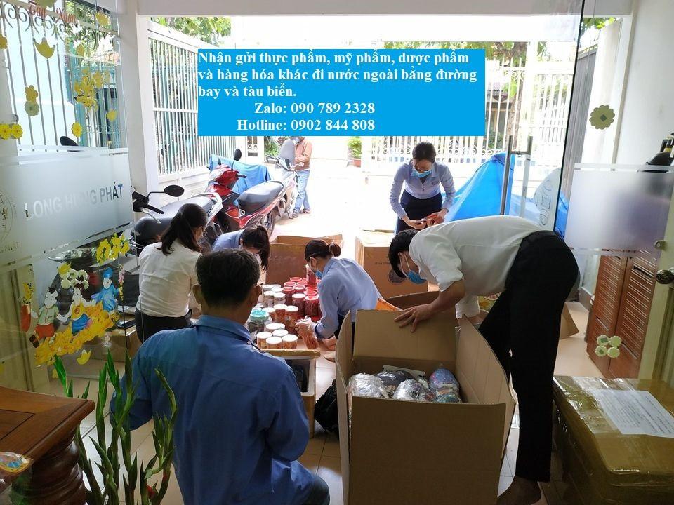 Gửi hàng hóa đi nước ngoài tại Cần Thơ, Đồng Nai