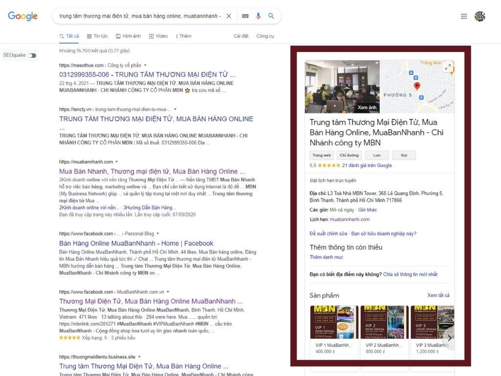 Quy trình SEO Map Google - GMB - Google My Business