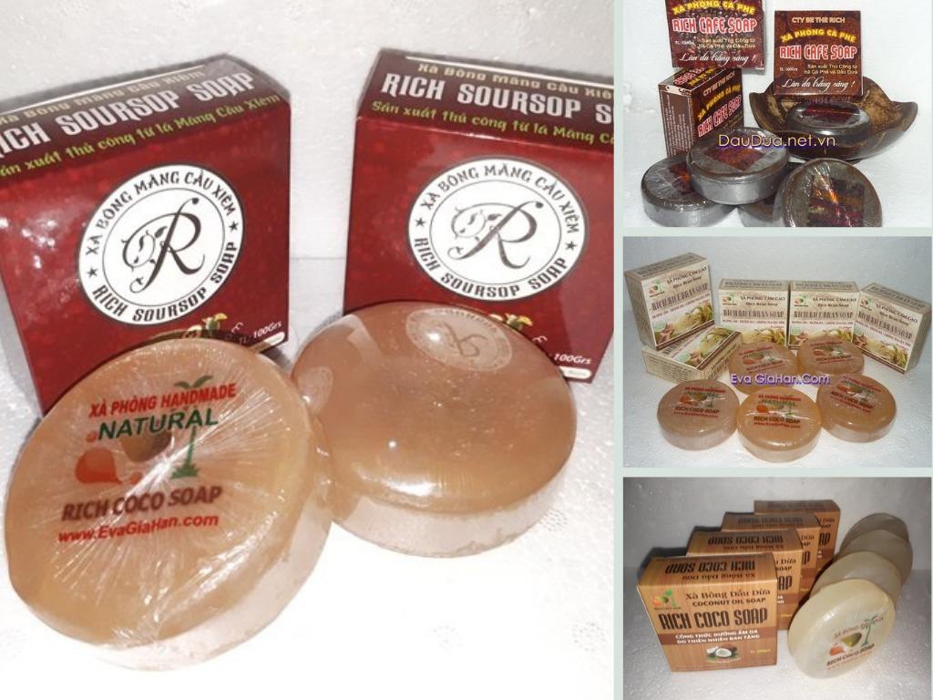 Xưởng sản xuất xà bông dừa thiên nhiên handmade - Đối tác sản xuất xà phòng bánh, cục cho shop làm thương hiệu, mua sỉ bán online