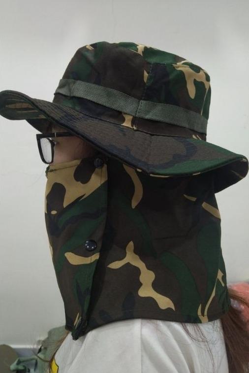 Xưởng may nón có đồ che cổ, xưởng mũ tai bèo che gáy chống UV tại TPHCM