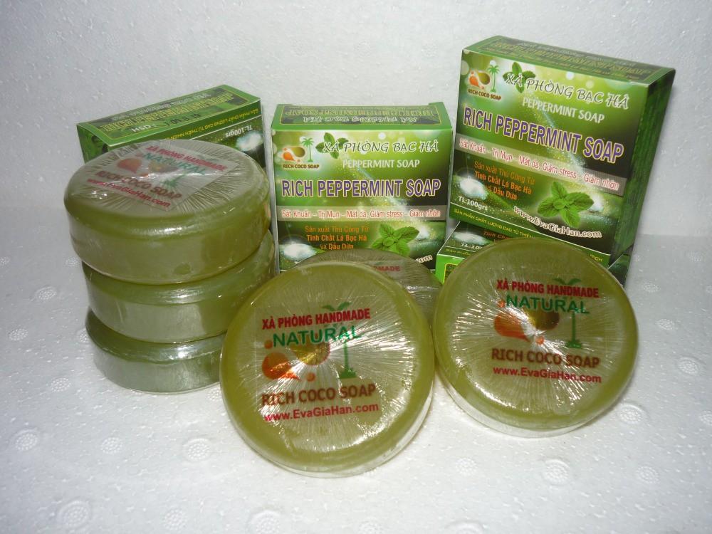 Sản xuất xà phòng cục công ty sản xuất xà bông cục thiên nhiên không hóa chất
