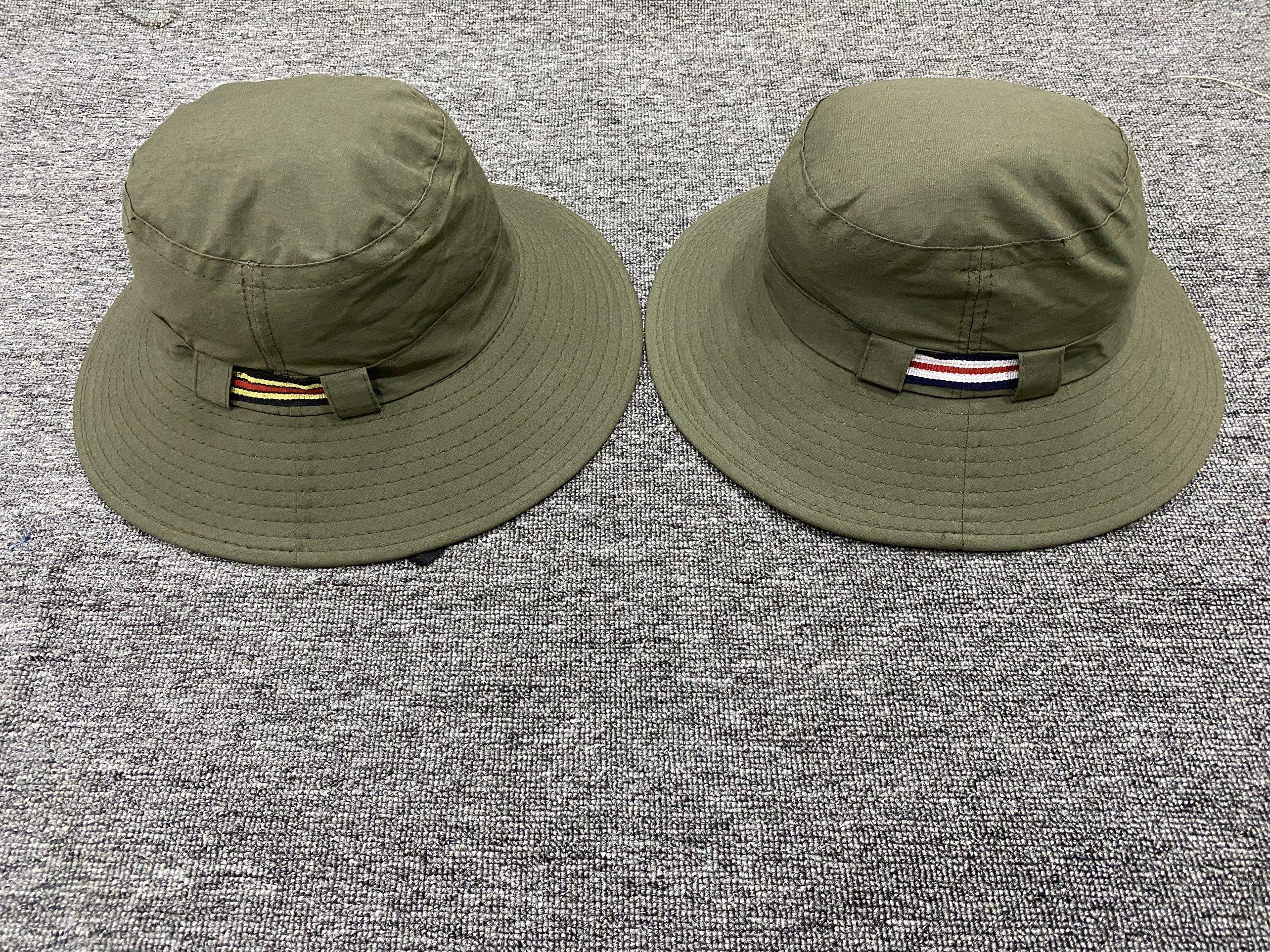 Nhận sản xuất, in thêu logo nón tai bèo