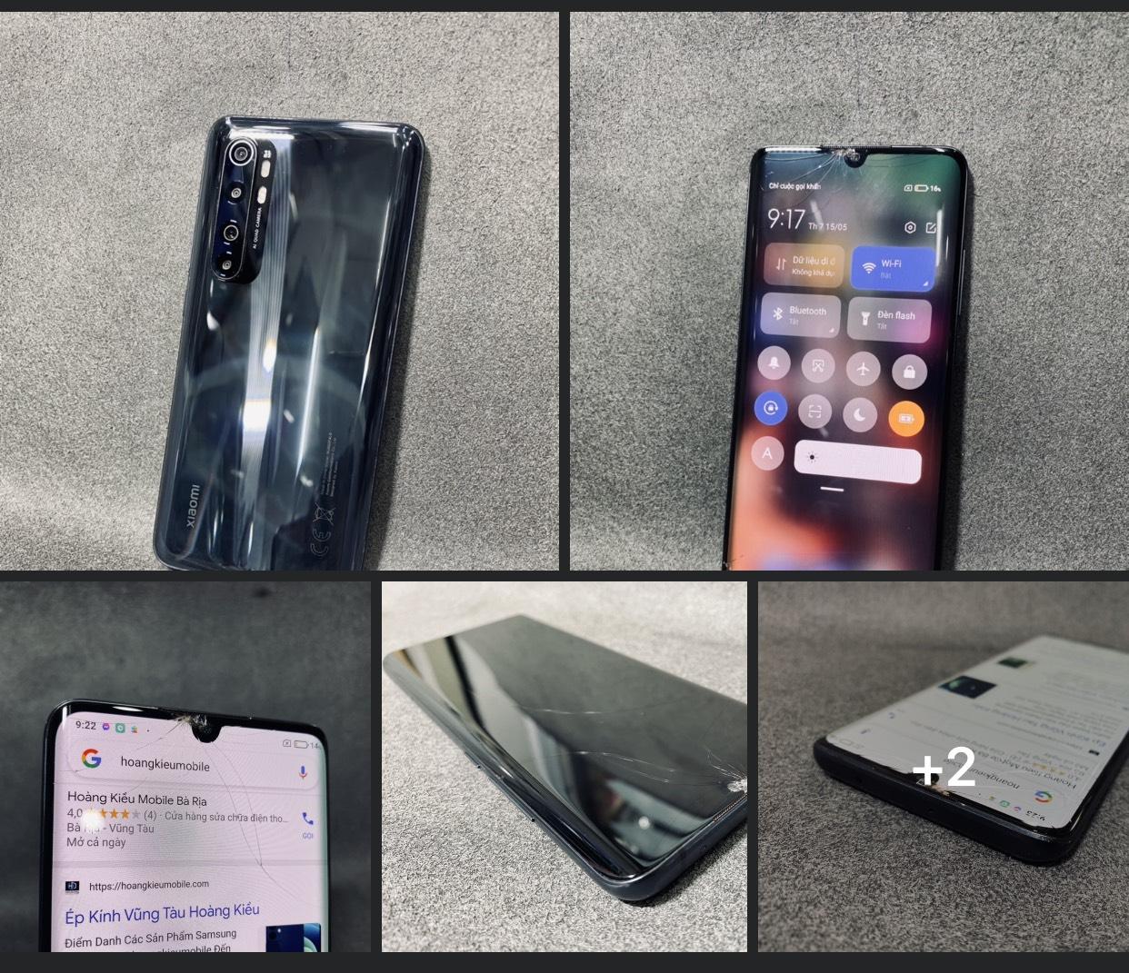 Ép Kính Xiaomi Mi Note 10 Lite Uy Tín Số 1 Bà Rịa Vũng Tàu