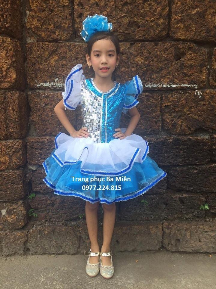Cho thuê đầm múa trẻ em giá rẻ Bình Thạnh, TP.HCM