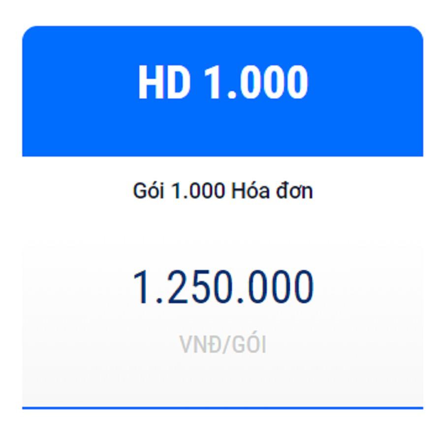 Hóa đơn điện tử Netca HD1000