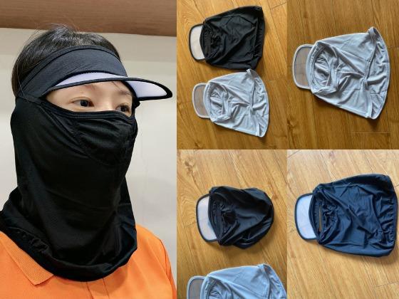Xưởng may nón khẩu trang full mặt kèm mũ lưỡi trai trong suốt - Nhận sản xuất mũ nón thiết kế chuyên dụng các ngành nghề