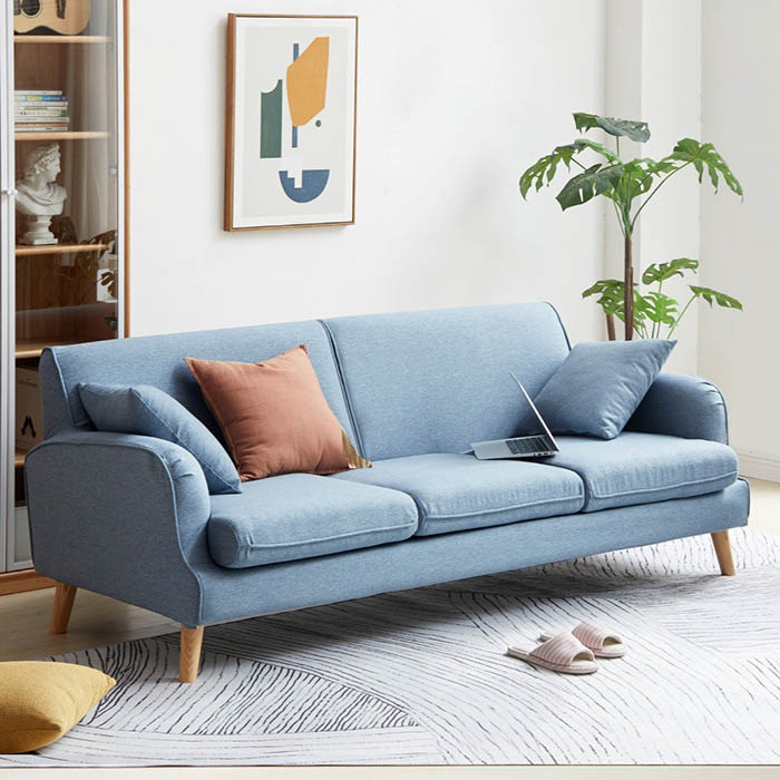 Xưởng sản xuất ghế sofa băng vải nỉ theo yêu cầu tại Bến Cát - Bình Dương