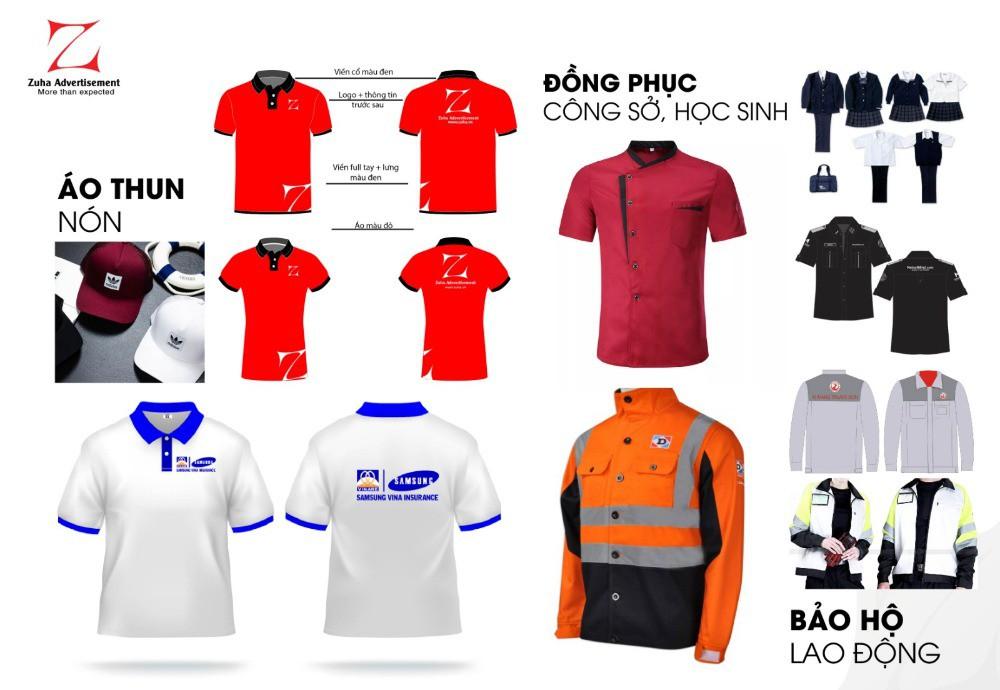 In áo thun, đồng phục giá rẻ nhất tại Hồ Chí Minh