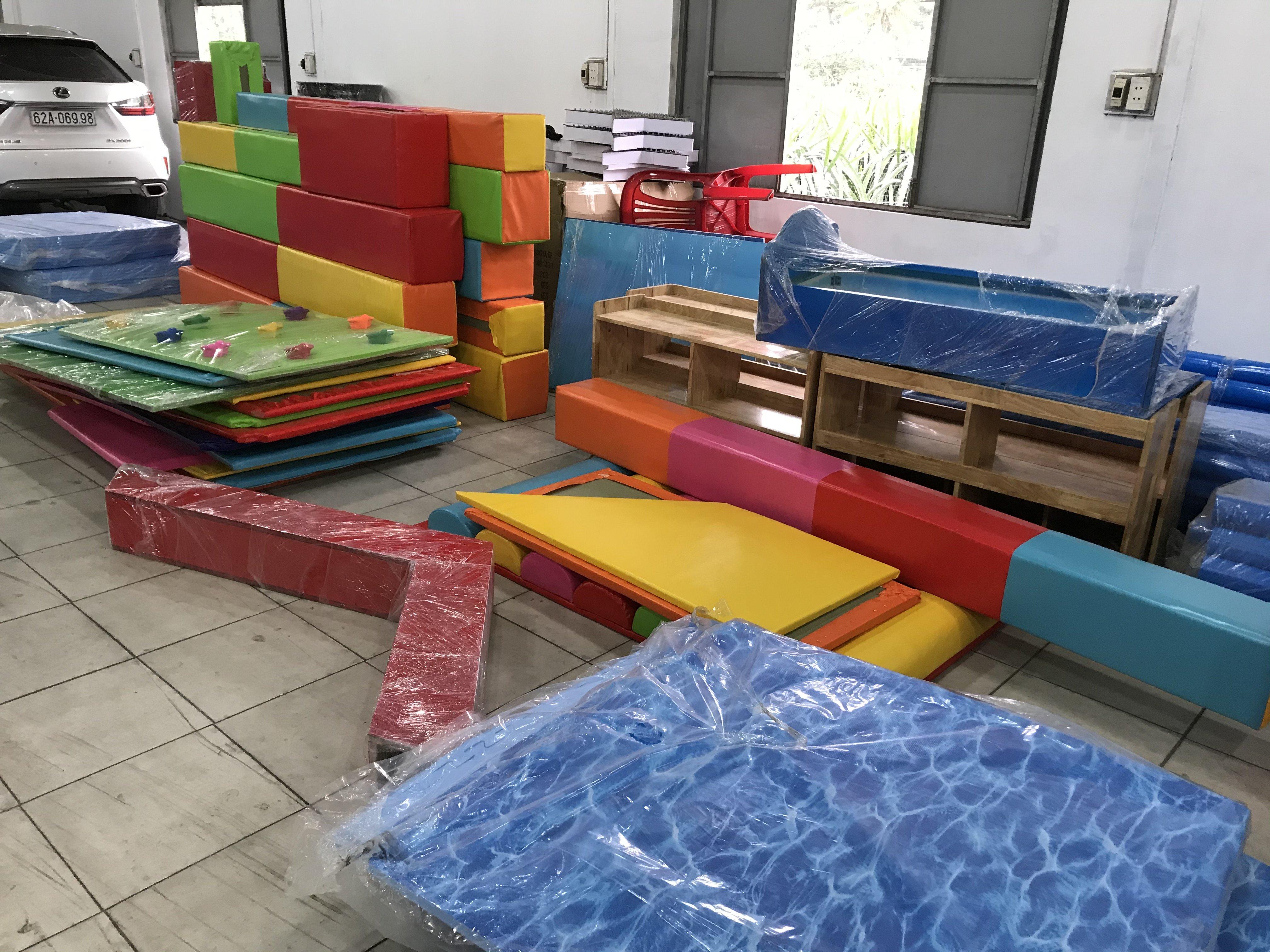 Thiết kế khu vui chơi trẻ em 100m2