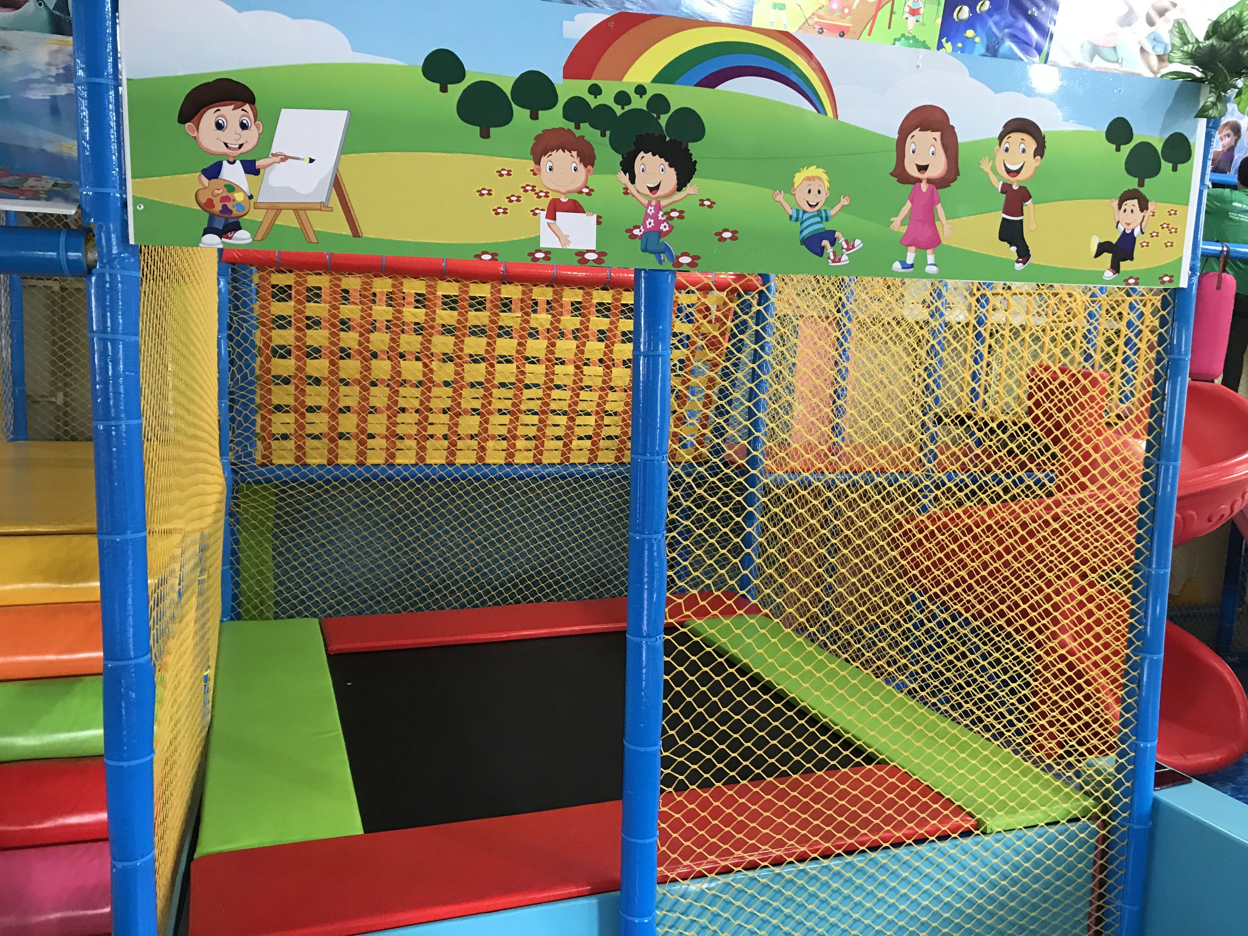 Mô hình cafe kết hợp khu vui chơi trẻ em, kinh doanh khu vui chơi trẻ em ở quê